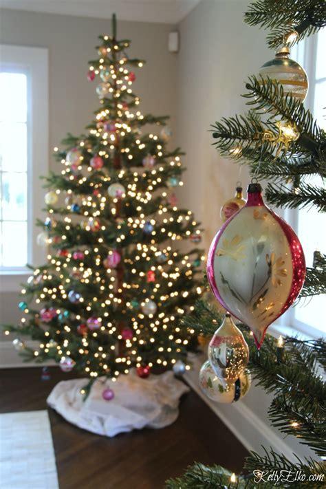 shiny bright christmas ideas sparse tree and vintage shiny brites elko