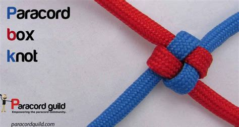 How To Make Knot - how to make a box knot paracord guild