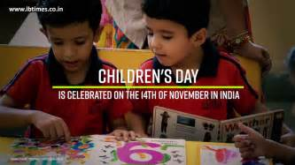 why is children s day celebrated on november 14