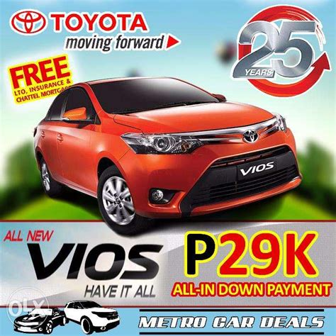 Toyota Philippines Promo 2017 Toyota Vios Philippines 2017 2018 Best Cars Reviews