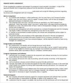Working Agreement Letter Template Work Agreement Template 9 Free Word Pdf Documents Free Premium Templates