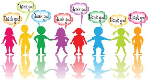children saying thank you clipart clipartxtras