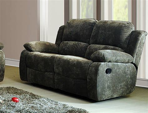 2 Seater Recliner Sofas Lazy Boy Valencia 2 Seater Manual Recliner Sofa Grey Jasper Bargain