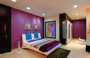 bedroom purple colour schemes modern design: how to decorate a bedroom with purple walls