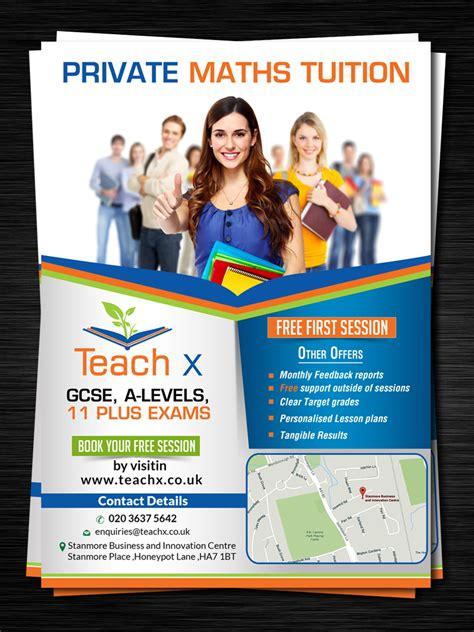 leaflet design for tuition elegant modern flyer design for amit gami by creative