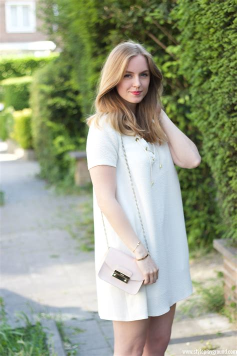 Mini Dress Furla the white dress style playground