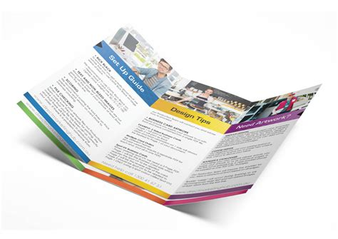 layout brochure a3 a3 brochure folded to dl