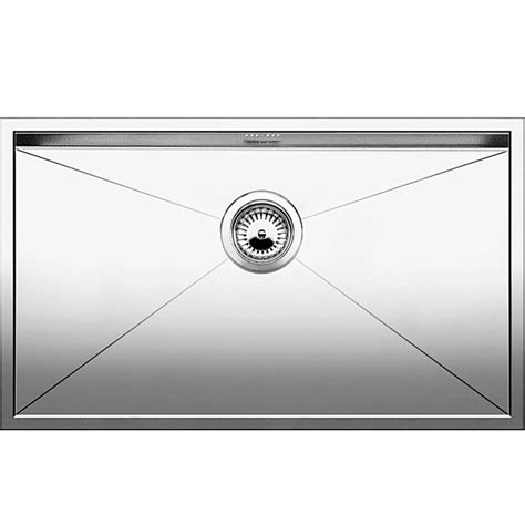 blanco stainless steel sink blanco zerox 700 u stainless steel sink kitchen sinks