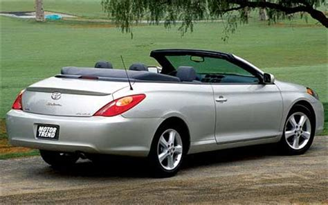 convertible toyota camry toyota camry solara convertible car of the year car