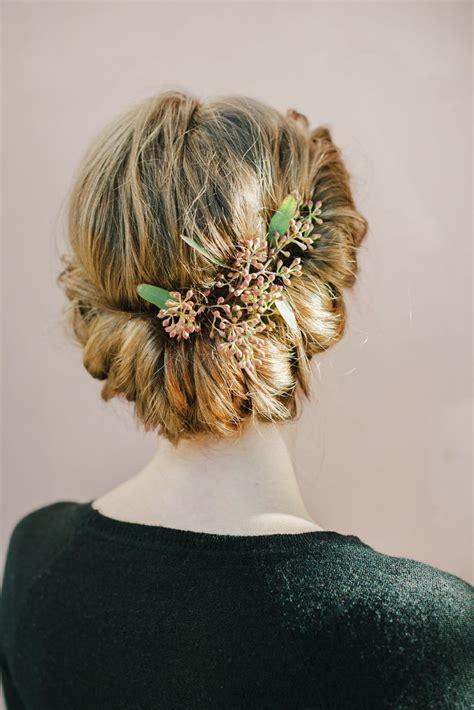 5 wedding day hair styles brunk