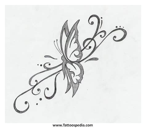 half butterfly tattoo designs search results butterfly