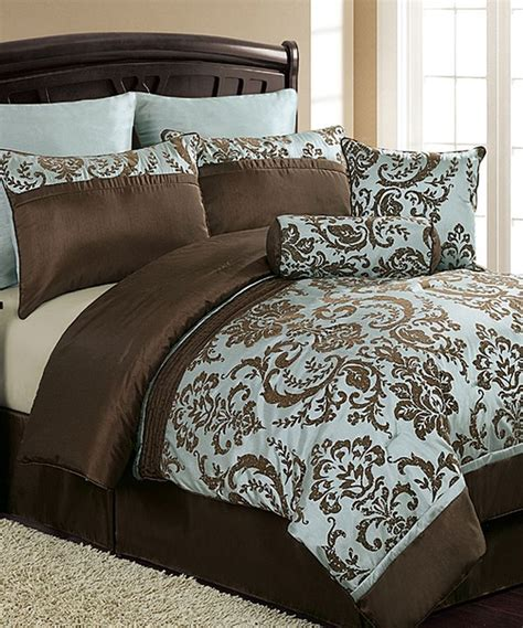 blue brown comforter another great find on zulily blue brown daniella