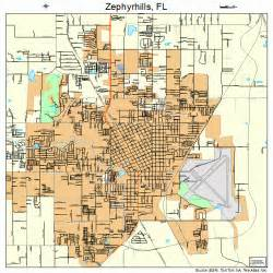 where is zephyrhills florida on the map zephyrhills florida map 1279225