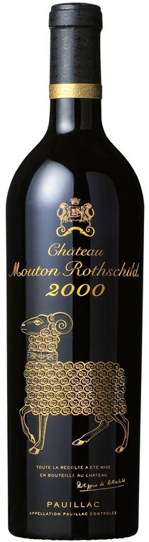 ch 226 teau mouton rothschild the labels room ch 226 teau mouton rothschild 2000