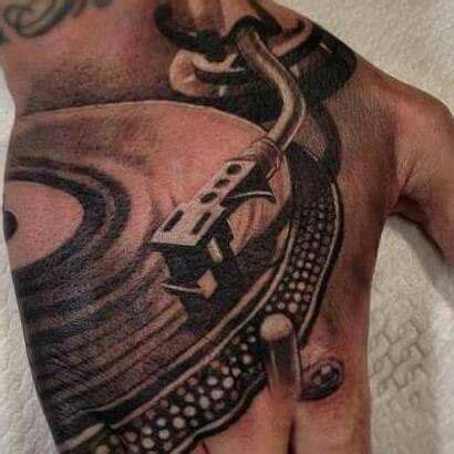 turntable tattoo turntable d