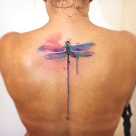 watercolor dragonfly tattoo designs best 25 watercolor dragonfly ideas on