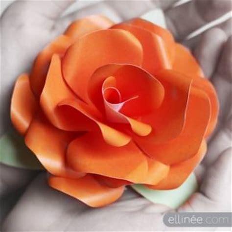 Craft Paper Roses - diy free paper templates papercraft tip junkie