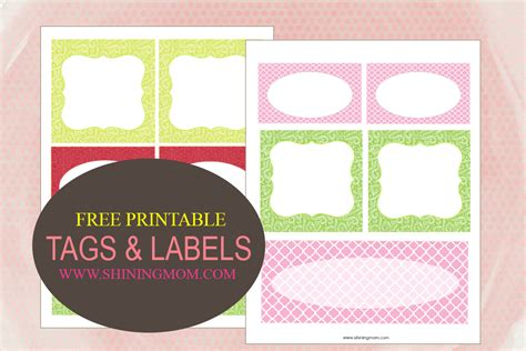 printable labels and tags printable tags and labels