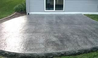 Concrete Stamped Patio by Decorative Concrete Patios Minneapolis Stamped Concrete
