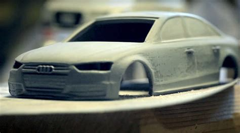 audi 3d printed car of the audi quattro slot cars notcot