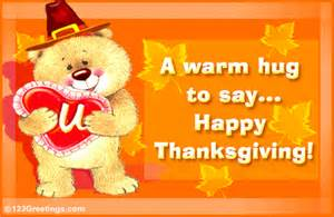 hugging you on thanksgiving free family ecards greeting cards 123 greetings