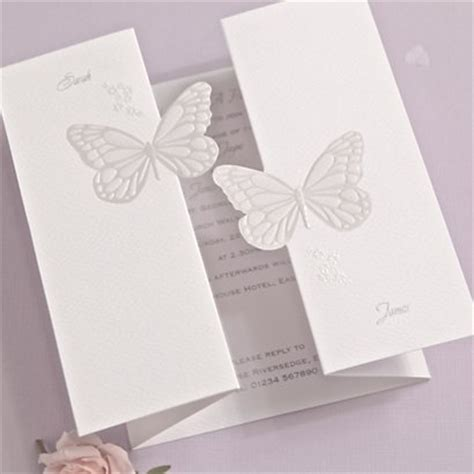 butterfly wedding invitations butterfly kisses evening invitation wedding invitations