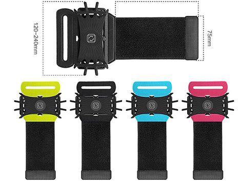 Wristband Smartphone Holder 180 Degree Rotatable sport wristband smartphone holder