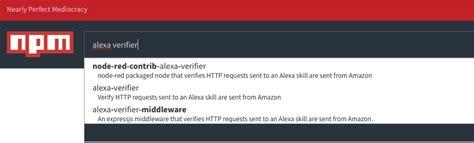 simple node js proxy verifying amazon alexa requests with sap cloud platform