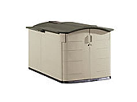 slide lid shed discontinued rubbermaid