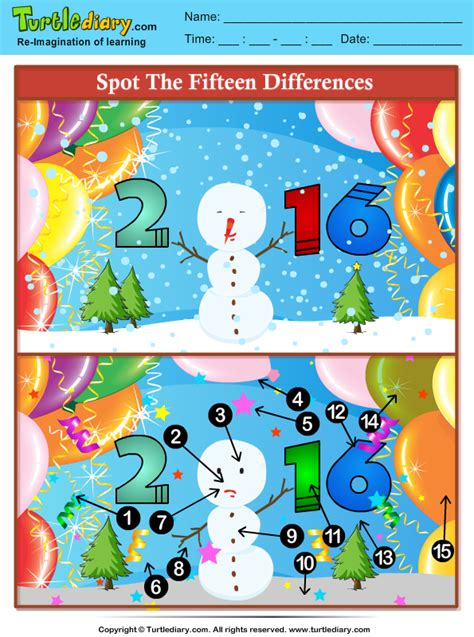 spot the difference 2016 1471405672 spot the differences 2016 new year worksheet turtle diary