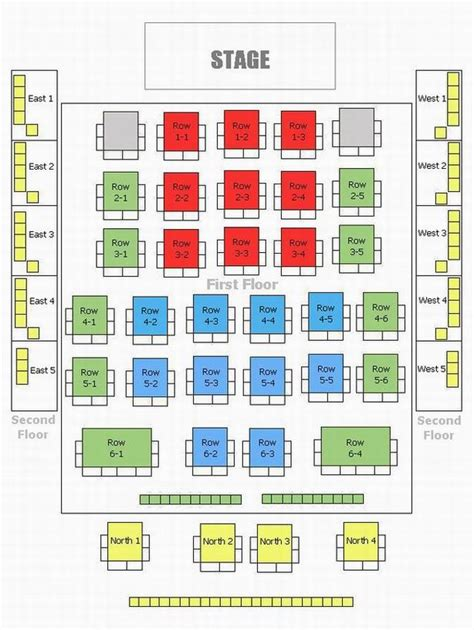 seating plan beijing huguang guild seating plan seating chart and map