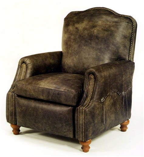 Leather Look Recliners Western Look Leather Recliner Leather Recliners For The