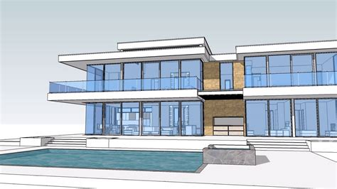 13 million dollar glass home design and floor plan