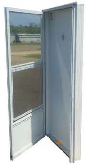 mobile home doors 34x80 aluminum solid door with peephole rh for mobile home