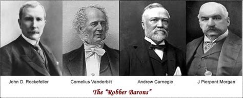 jp captain of industry or robber baron robber barons mergers above you