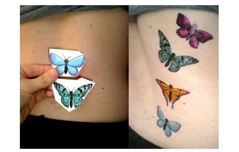 how to make removable tattoos how to make temporary tattoos using printing paper