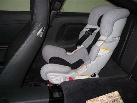 porsche 911 baby seat rear child seat for the 997 any new experiences page