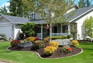 diy front yard landscaping fast design landscaping ideas for front yard of a mobile home