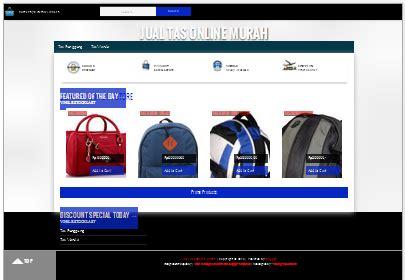 membuat online shop dengan blogspot cara membuat web toko online dengan blogspot template