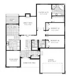 gallery for gt open concept bungalow floor plans