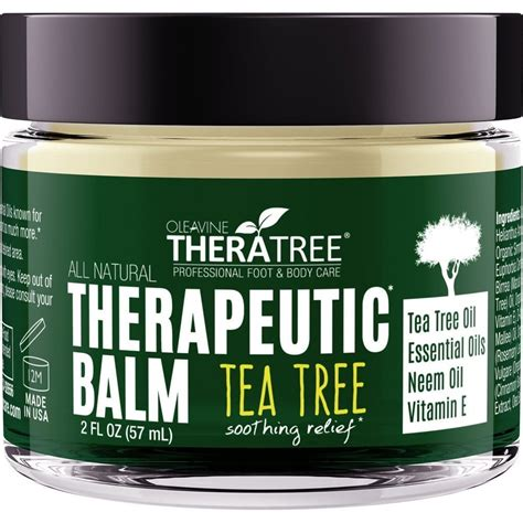 Circle Detox Tea Reviews by Oleavine Therapeutic Balm With Tea Tree Neem Review