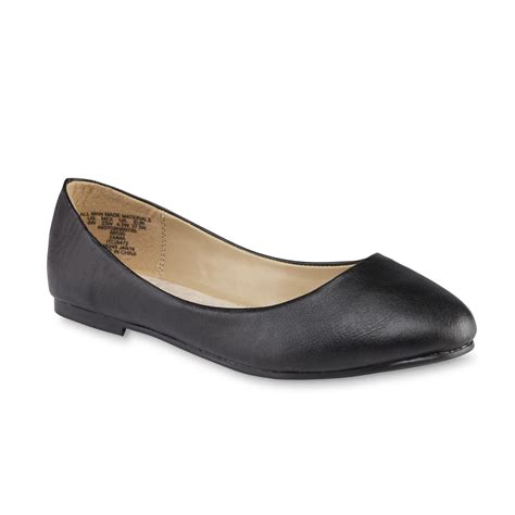 womens wide shoes flats simply s black ballet flat wide width
