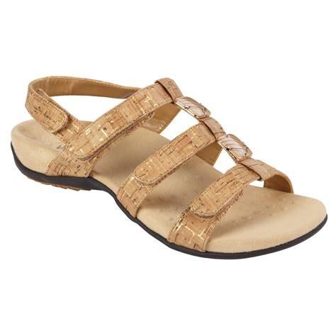 vionic s gold sandal wide width