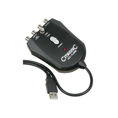Usb Audio Device citronic 128 515uk usb audio capture device rapid