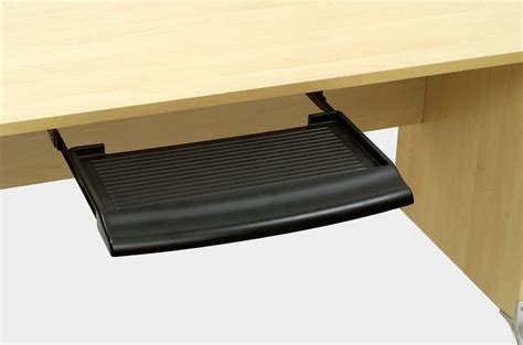 computer desk keyboard tray hardware contoured keyboard tray custom accents