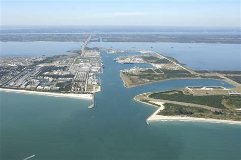 canaveral florida canaveral harbor in canaveral fl united states
