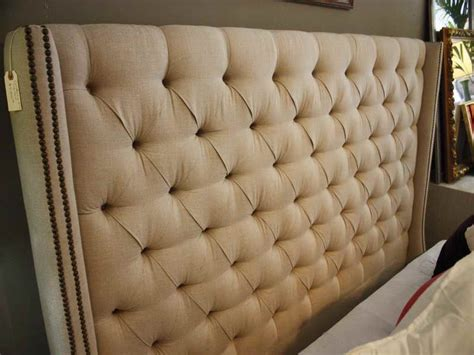 Leather Headboard Diy by Bedroom Winsome Tufted Headboard Leather Diy