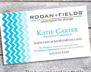 rodan and fields business card template unavailable listing on etsy