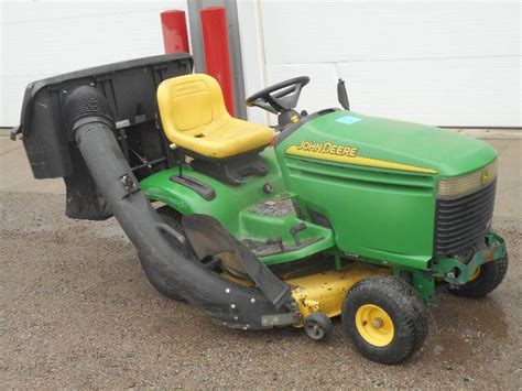 regular or premium gas for lawn mower deere lx277 lawn tractor le rental equipment
