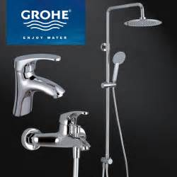 Swan Bath Shower Mixer Taps popular grohe shower set buy cheap grohe shower set lots